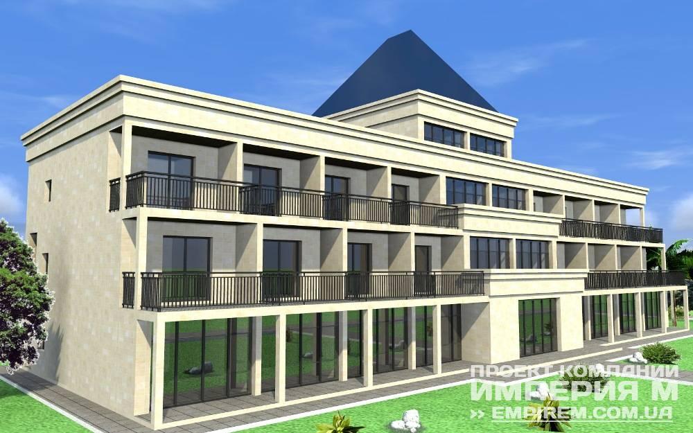 Фасады гостиниц фото