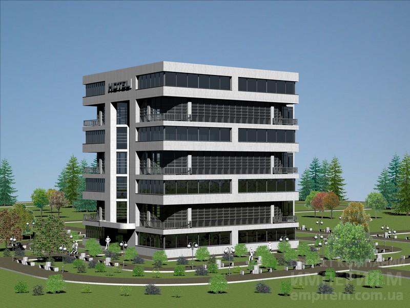 проекты фасадов промышленного здания:
