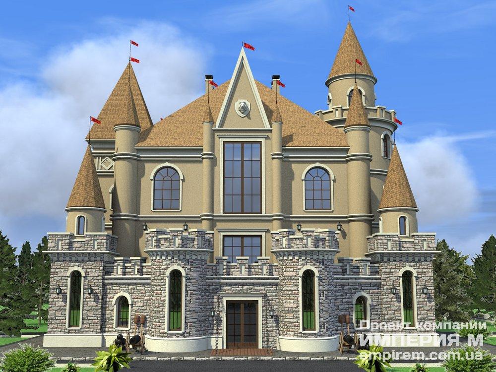 проект сказочный замок: